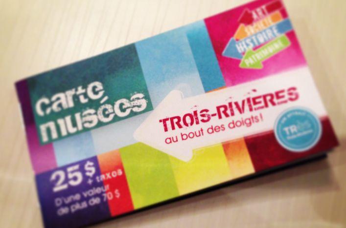 Carte musées de Trois-Rivières #musee #art #histoire #patrimoine #instagram