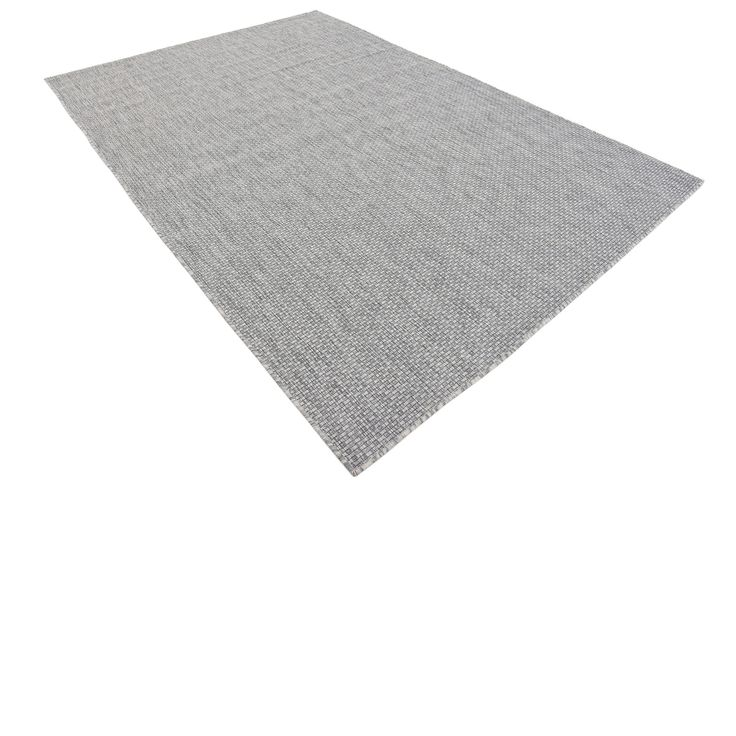 Turkish Indoor/Outdoor Solid Grey Polypropylene Rug (6' x 8' 11) | Overstock.com Shopping - The Best Deals on 5x8 - 6x9 Rugs