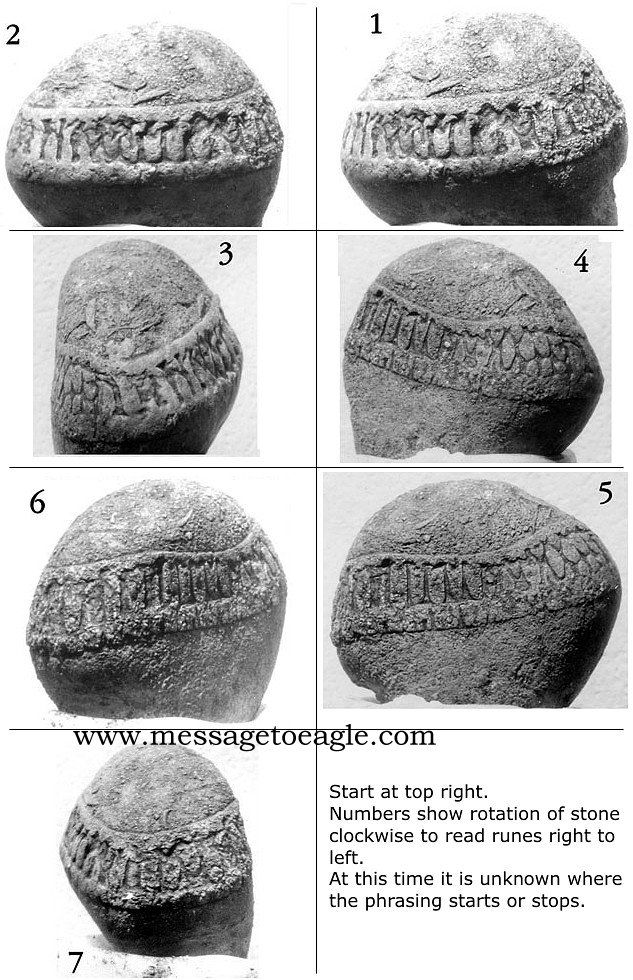 The incredible Roseau Stone discovered in Minnesota, USA, could easily re-write…