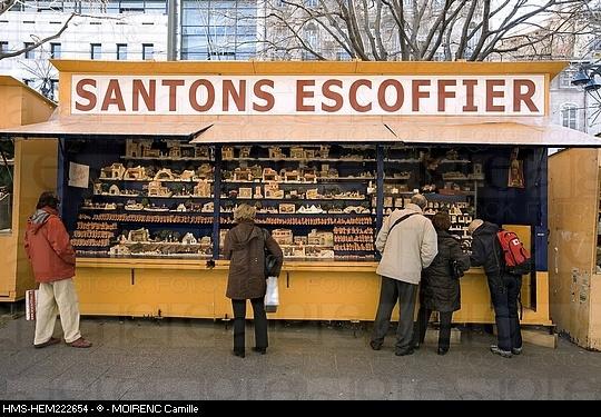 Marseilles (santons de provence - la canabiere)