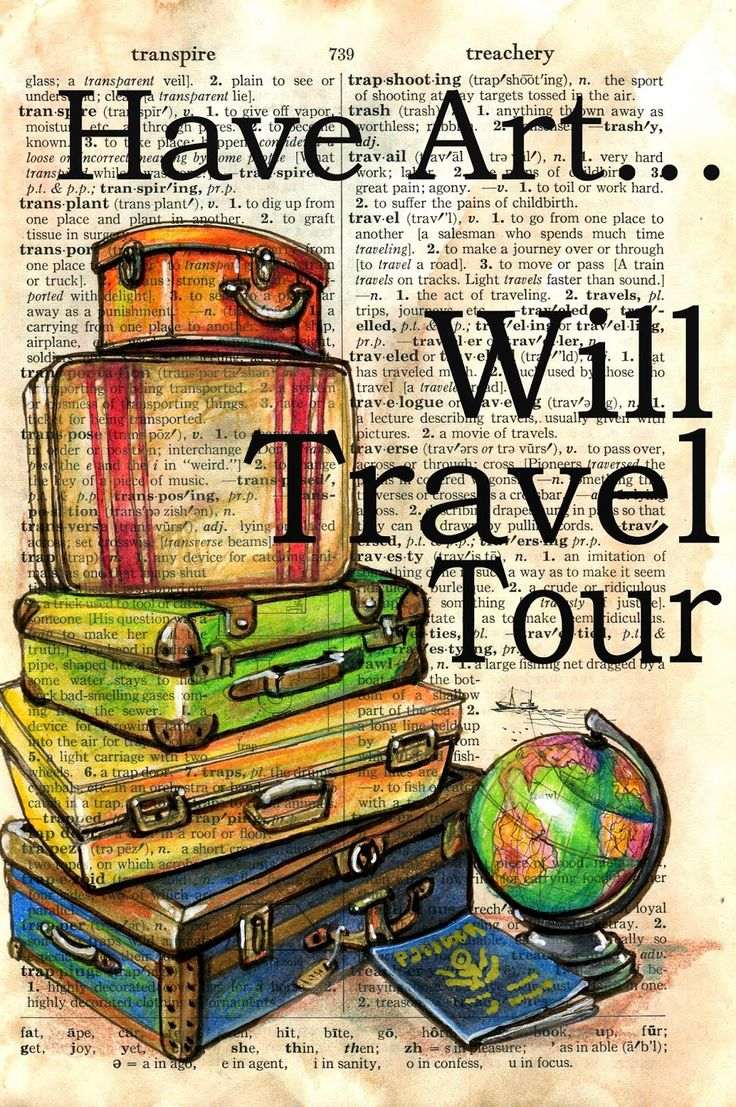 Have Art....Will Travel Tour Commences    Today is the day we set out on our big, art adventure. This is my first attempt to do back-to-...