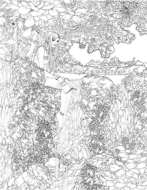 adult coloring pages water - 33 best mindfulness colouring pages images on pinterest