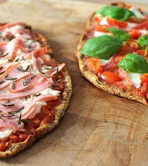 Koolhydraatarme Mini-Pizza's met Chiazaad