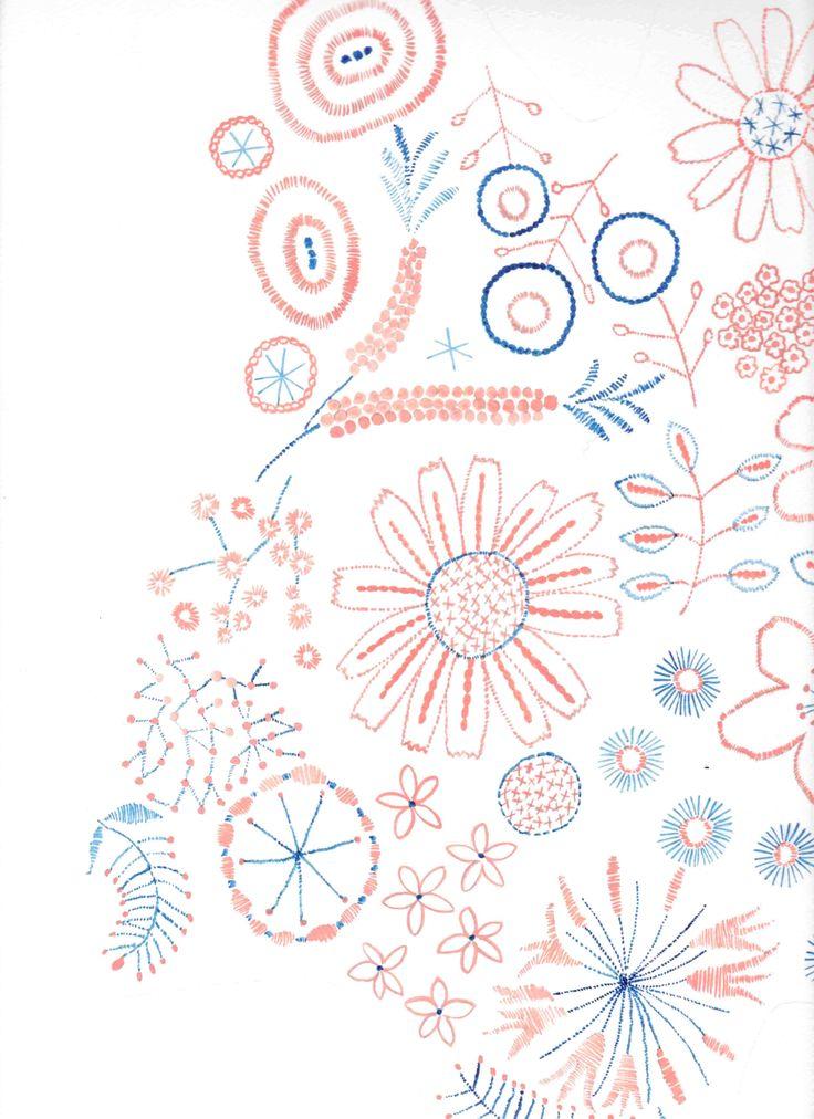 刺繍アイディア 2012春