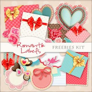 Freebies Kit - Romantik Labels // etiquetas