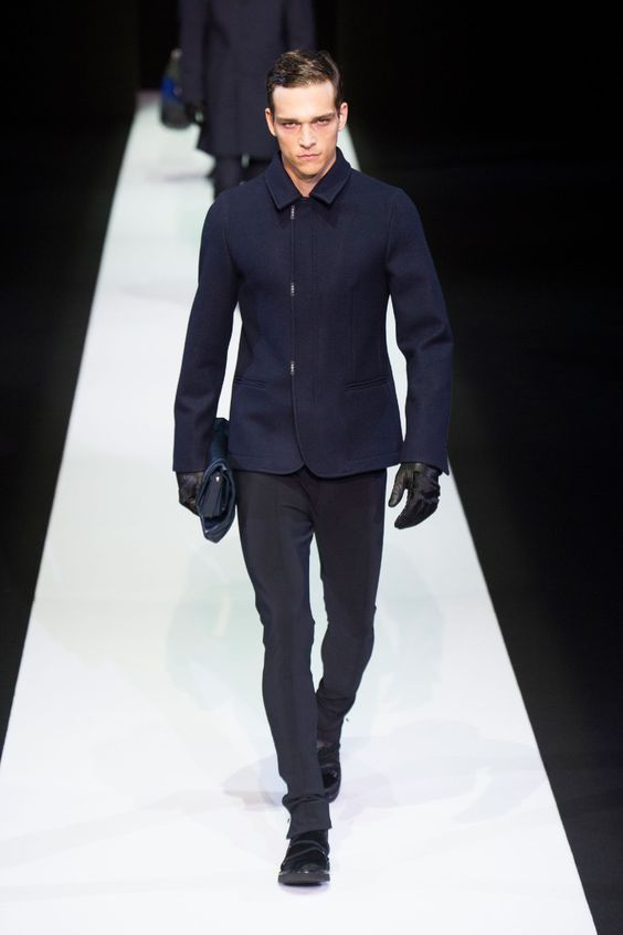 Emporio Armani Fashion Show & more Details