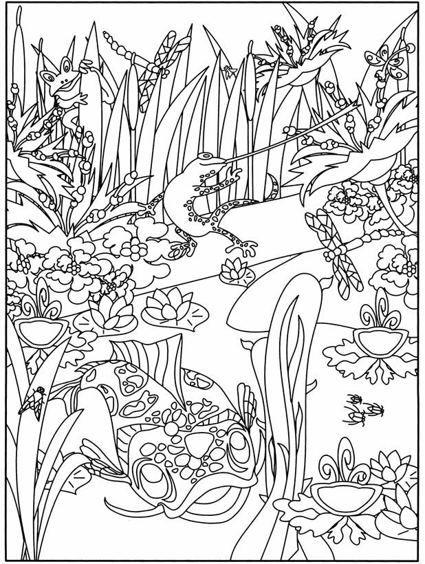 aquarium plants coloring pages - photo#17