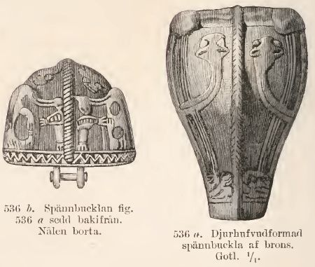 Sketches by Montelius, Oscar. Sveriges Forntid. 1874.