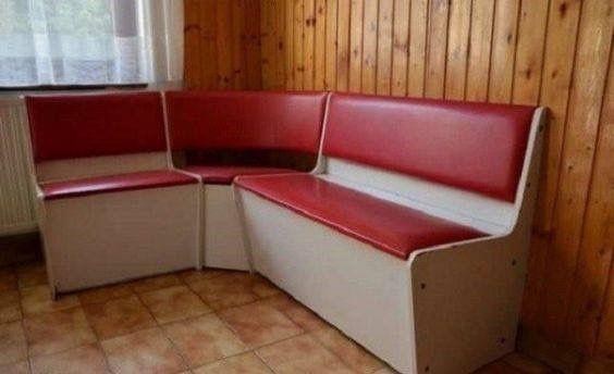 Konyhai sarok ülőpadok
