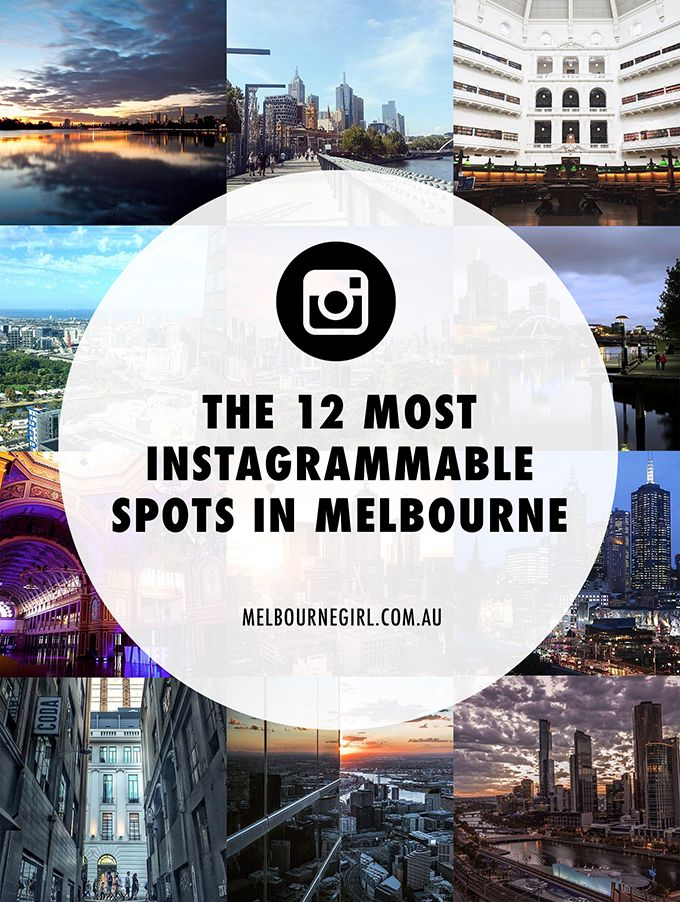 The 12 most Instagrammable spots in Melbourne