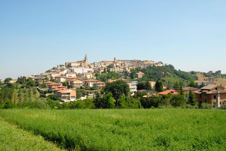 Panoramica di Falerone #marcafermana #falerone #fermo #marche