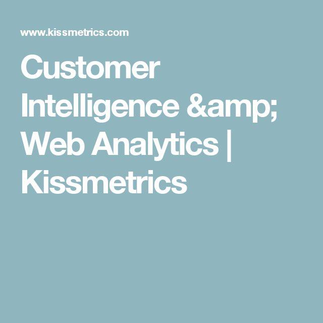 Customer Intelligence & Web Analytics | Kissmetrics
