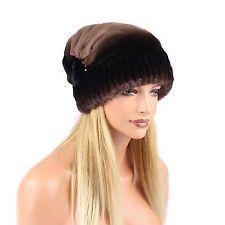 Mesdames Chinchilla Chapeau Fourrure Chapeau oversizemuetze Beanie chapeau d'hiver fourrure: 139,60 EUREnd Date: 21-sept. 01:21Buy It Now…