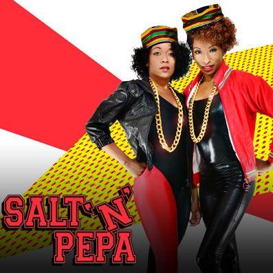 Salt And Pepper Rapper Costumes Salt n pepa tribute - las