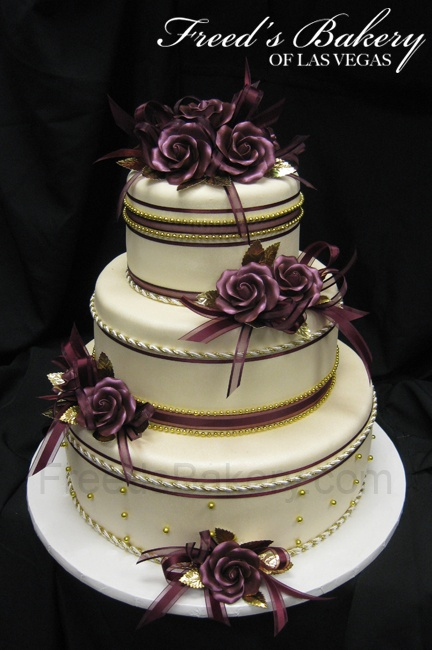 wedding cakes in las vegas nv lavender and gold freed s bakery las vegas nevada 24683