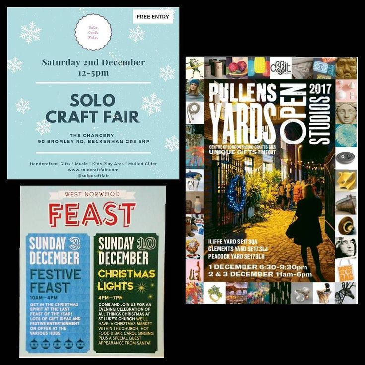 Wherever you are in South London this weekend make sure you pop by one of these fabulous makers markets @solocraftfair @wn_feast @pullensyards #christmasmarket #holidaysarecoming #giftideas #lifestyle #homedecor #scentedcandle