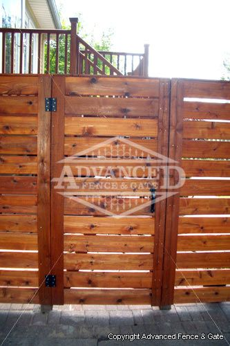 1000 Images About Horizontal Fence On Pinterest Fence