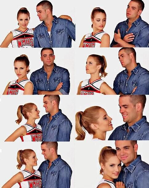 Quinn and Puck   glee