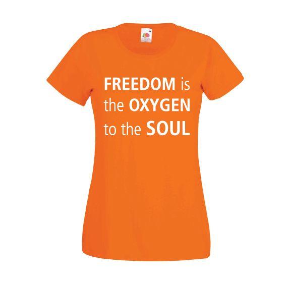 Tshirts Bevrijdingsdag 2017 | Freedom = oxygen