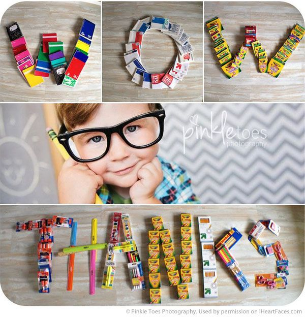 Back to School Photography Ideas via iHeartFaces.com - Portrait Photography by Pinkle Toes Photography