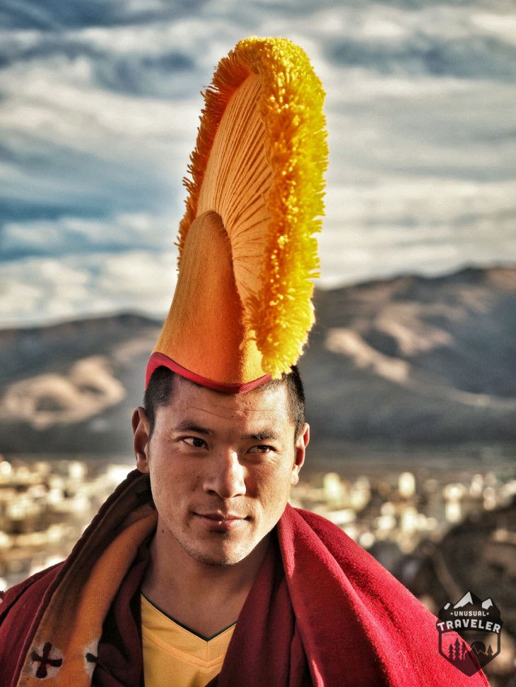 A tibetan monk in western Sichuan China #Tibet #Tibetan #China #portrait #monk