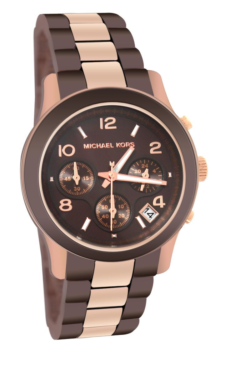 Michael Kors MK5658 Ladies Chocolate Rose Gold Watch : Disclosure: Affiliate link *$194.59 - 199.71