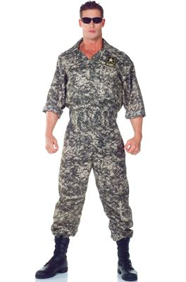 us army jumpsuit adult costume halloween costumes army soldier