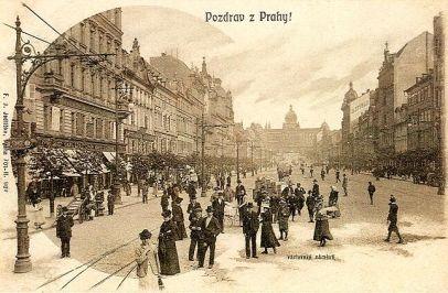 Prague Wenceslas Square
