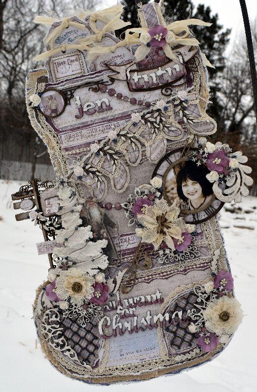 All I want for Christmas****Dusty Attic/Maja Design*** - Scrapbook.com