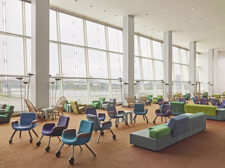 UN North Delegates' Lounge – UN Lounge Chair |Jongeriuslab design studio