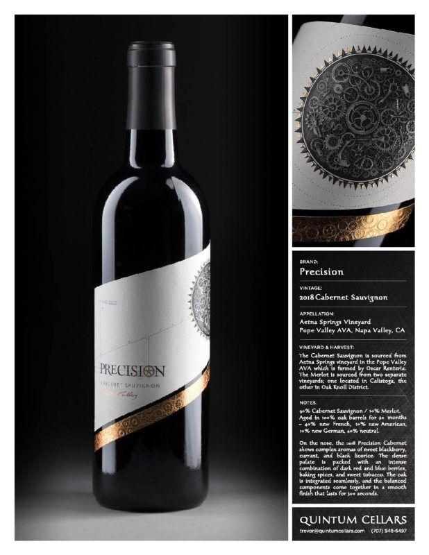 Precision Cabernet Sauvignon 2018 W 19ts Tri Vin Imports Inc Wines Cabernet Sauvignon Cabernet Wine Time