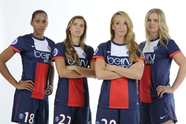 Marie-Laure Delie, Tobin Heath, Kosovare Asllani, Lindsey Horan | #PSG #women
