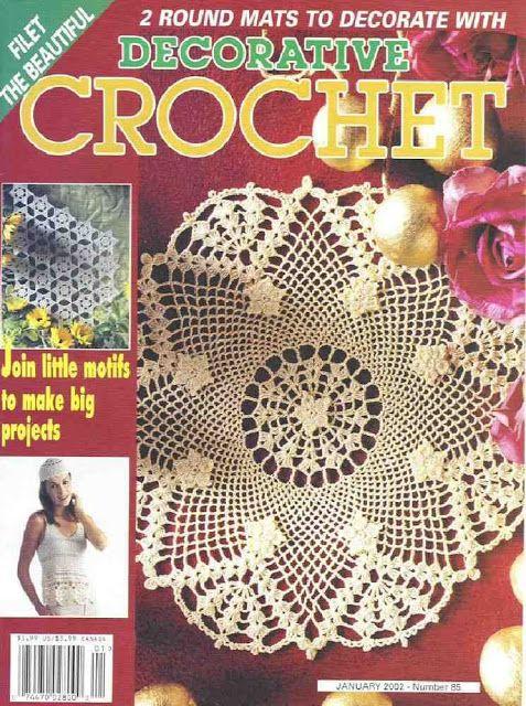 Decorative Crochet Magazines 50 - Gitte Andersen - Picasa Web Albums