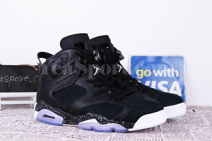 Air Jordan 6 Retro Black Oreo  652ee3118