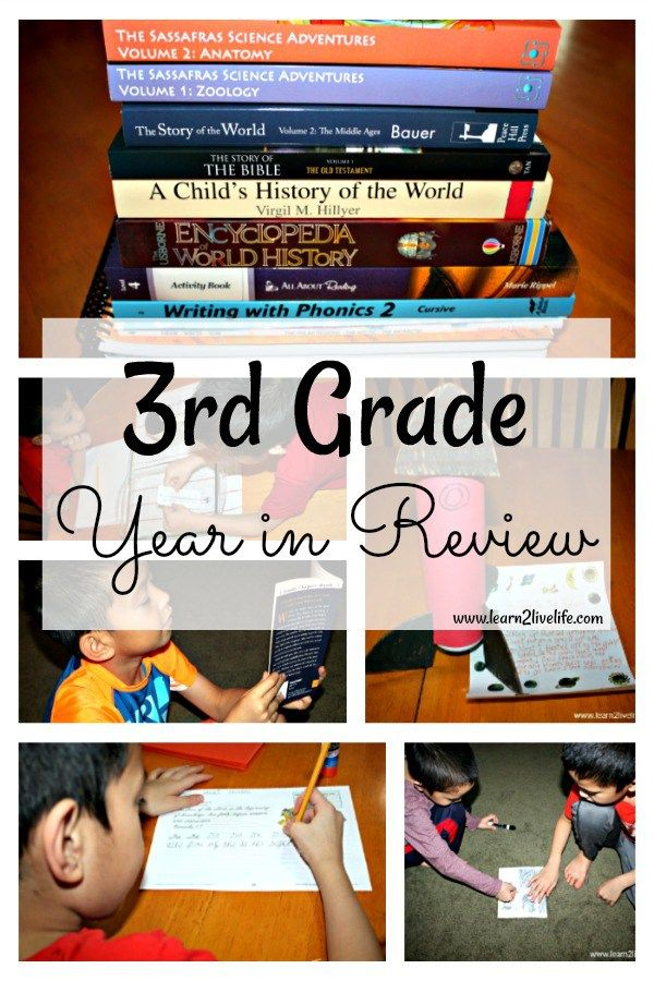 3rd Grade Year in Review