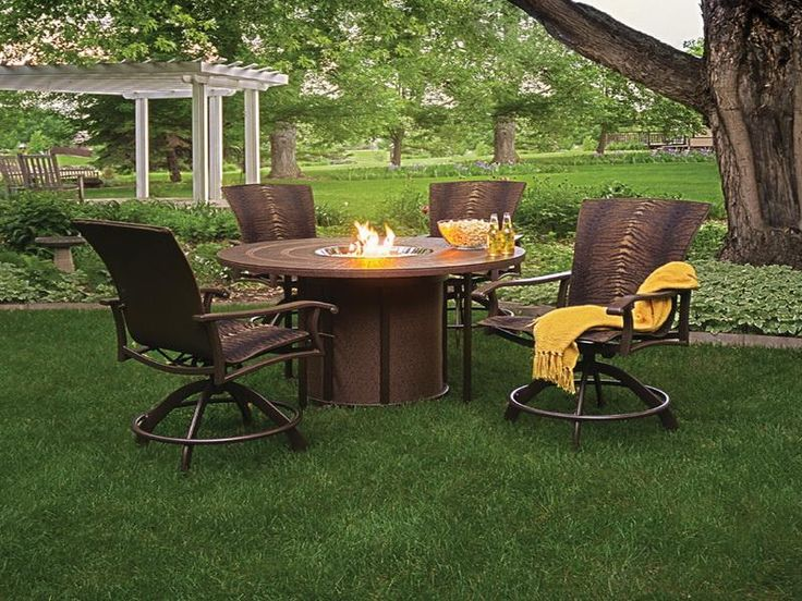 ... Fire Pit Table With Chairs Part 87