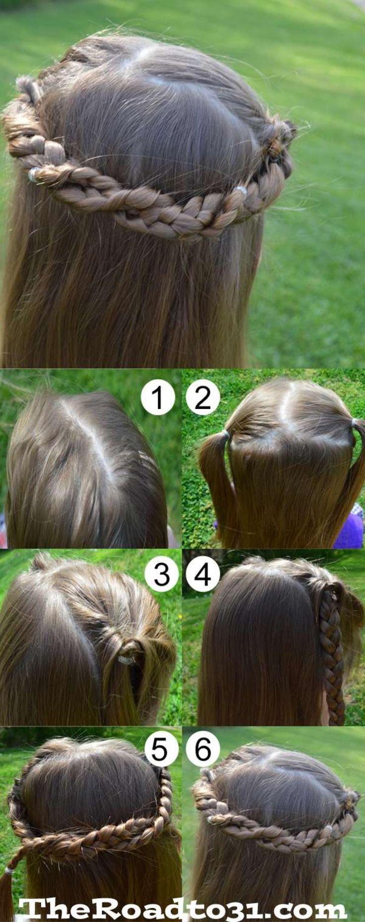 13 tutoriels de coiffures pour enfants facile à faire soi-même