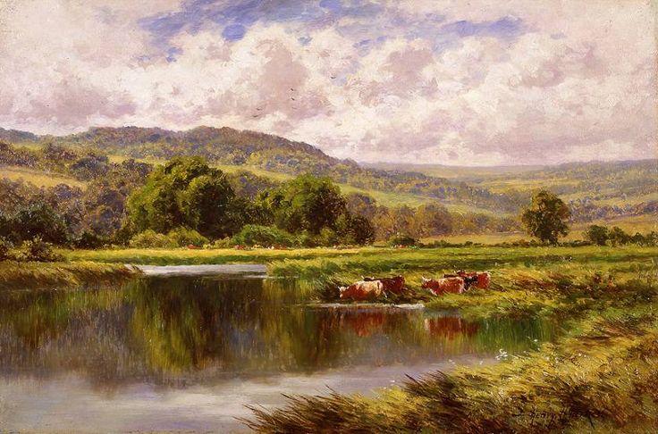 Artista inglese Henry H.Parker (1825-1896). Discussione sulla LiveInternet - Servizio russo diario online