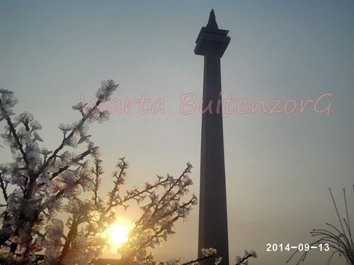 Sunset di Tugu Monas - 2