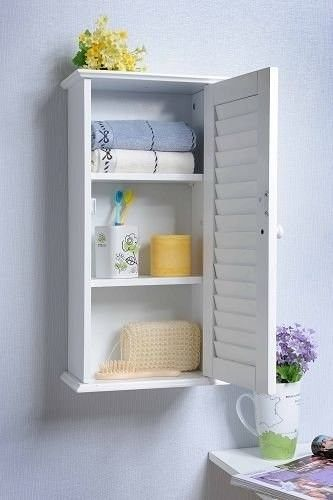 Put this charming cabinet where you need just a smidgen more of hidden storage. | 25 Of The Best Organization Products You Can Buy On Amazon
