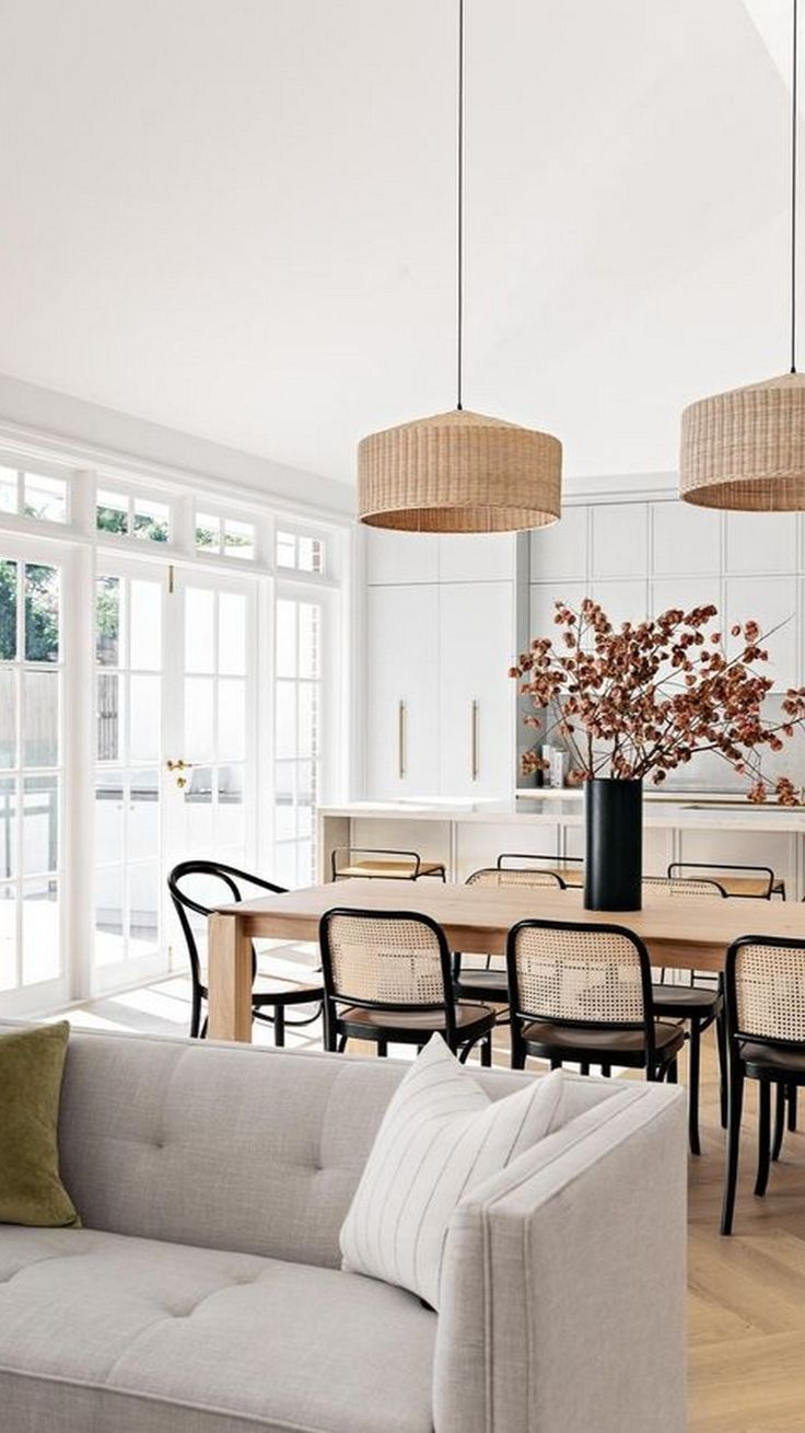 Dining Room Inspiration, Home Decor Inspiration, Modern Dinning Room Ideas, Modern Dining Room Chairs, Chairs For Dining Table, Daining Table, Dining Table In Living Room, Diningroom Ideas, Mismatched Dining Chairs