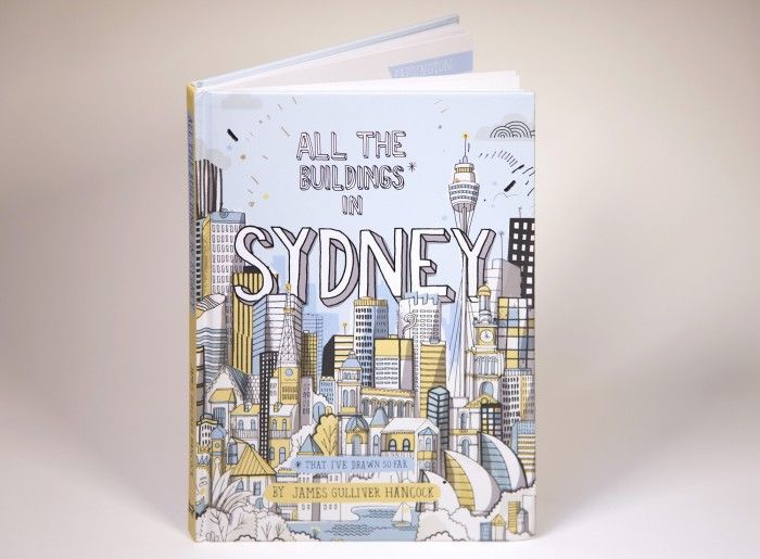 May 1st jamesgulliverhancock published his new book All the Buildings in Sydney - read it here: