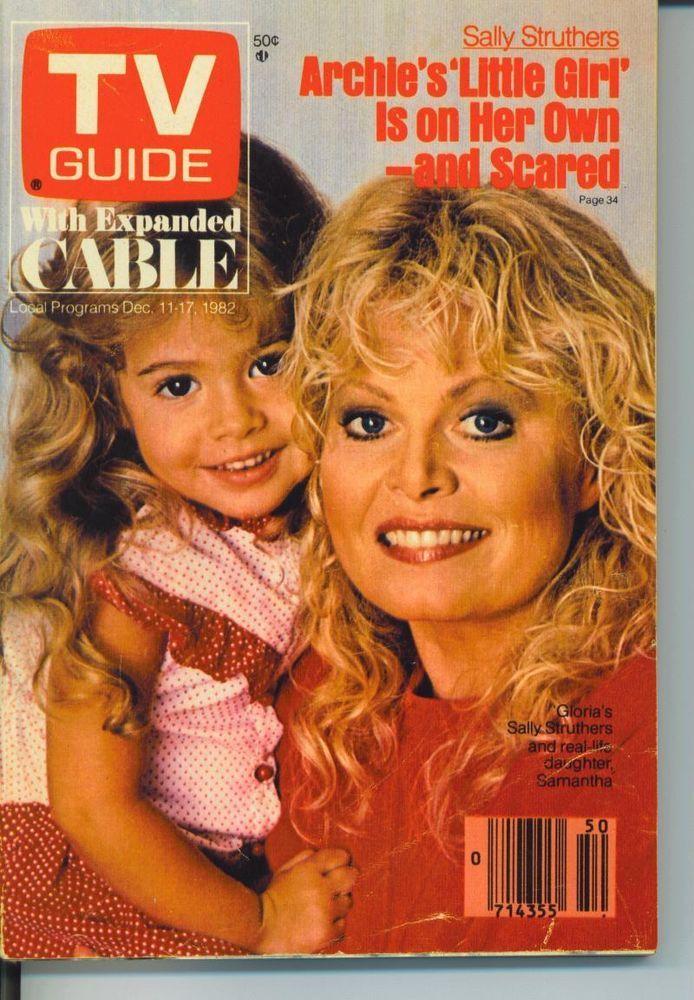 TV GUIDE DECEMBER 11 1982 SALLY STRUTHERS-WILLARD SCOTT-HARTFORD NEW HAVEN EDIT