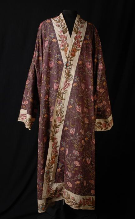 Dressing Gown (Japonse Rok), 1700-1800, cotton and ink, Museum Rotterdam
