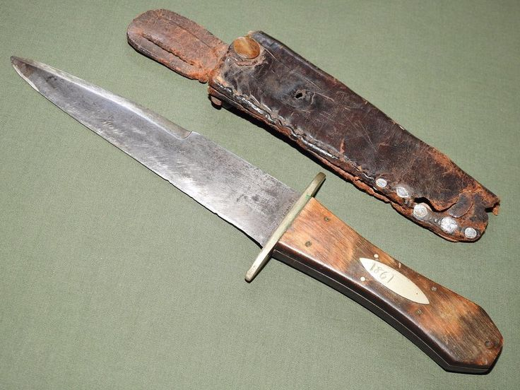 """During the California Gold Rush of the 1850s, every gold miner felt the need to carry a knife, usually a high quality dirk or bowie ordered from Sheffield or back East. Almost overnight San Francisco transformed from a rough frontier town into a wealthy, bustling seaport, and the prosperous gentlemen of """"The City"""" only considered themselves properly dressed for dinner if they had a beautifully made knife with their attire. 