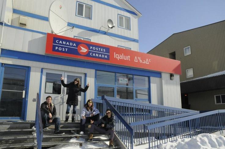IQALUIT -------------------------------- Iqaluit, Nunavut, Canada Post Office