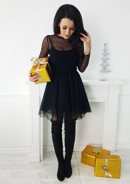 Sukienka Flavie - Czarna