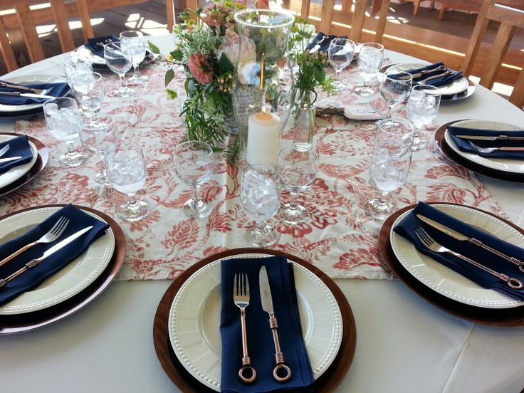 72 best Beautiful Table Setting images on Pinterest | Harvest table ...