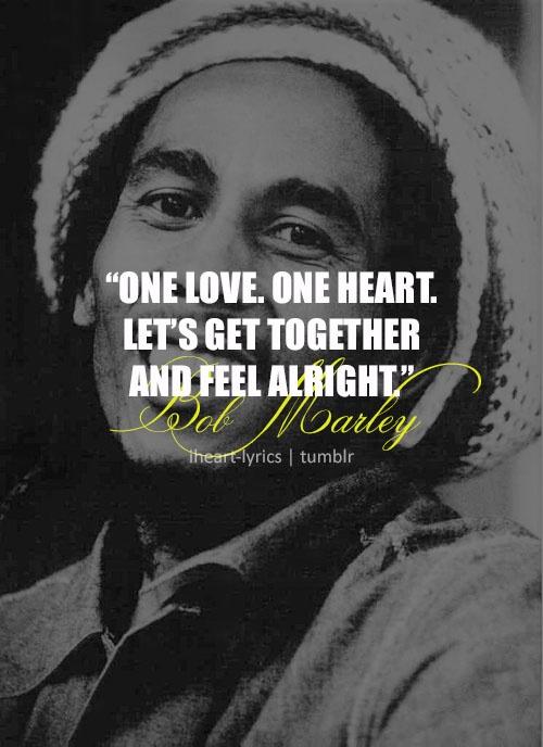 One Love - Bob Marley
