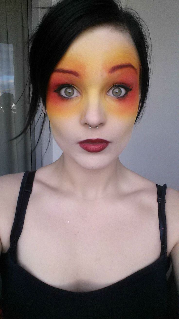 13 Best Fire Amp Ice Images On Pinterest Halloween Makeup